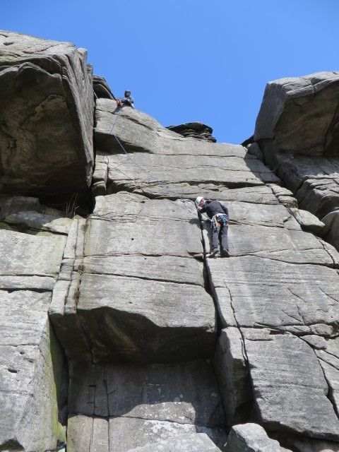 Climbing walking Yorkshire Dales
